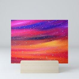 Snowy Sky Mini Art Print