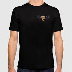 Never Fly Away Black Mens Fitted Tee MEDIUM