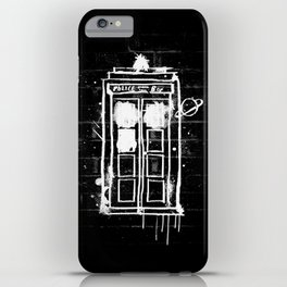 Time Lord Graffiti  iPhone Case