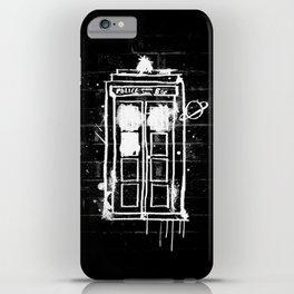 Time Lord Graffiti  iPhone Case