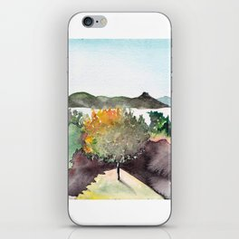 Danube bend iPhone Skin