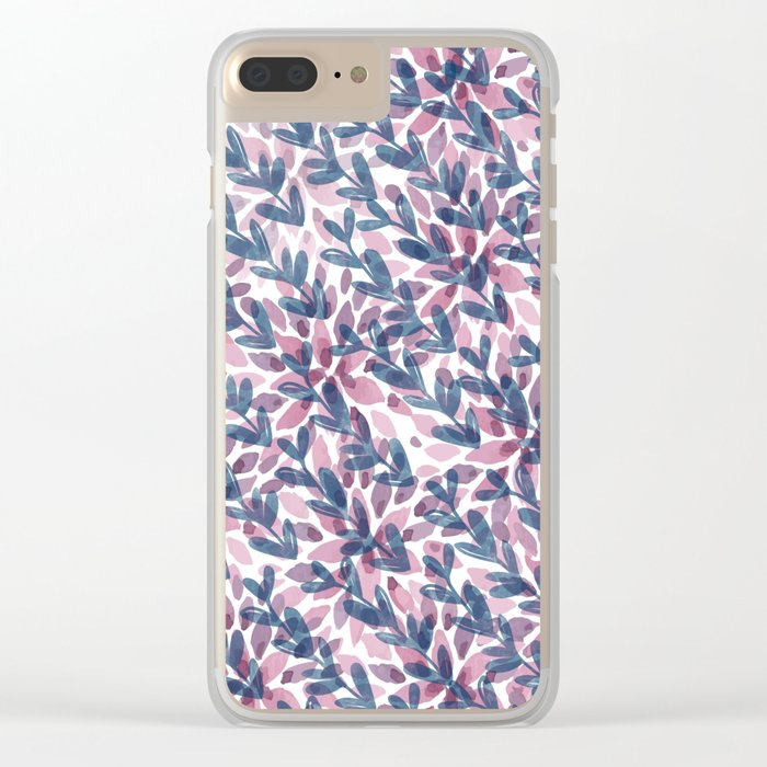Pattern 61 Clear iPhone Case