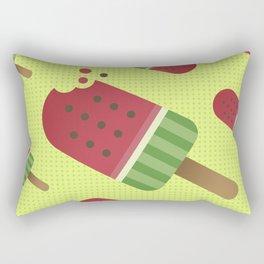 Watermelon Ice Pop Rectangular Pillow