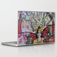 shiva Laptop & iPad Skins featuring Shiva dreams by Quinten Sheriff