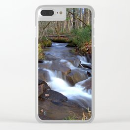 Stream Clear iPhone Case