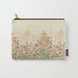 Victorian Flowers Carry-All Pouch