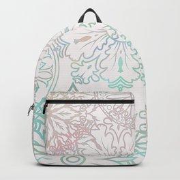 Spring blooms mandala Backpack