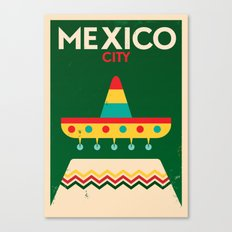 Mexico Poster Canvas Print