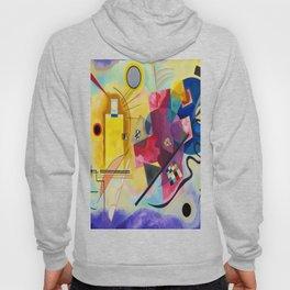 Wassily Kandinsky Yellow Red Blue Hoody