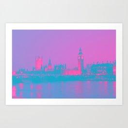 London Calling Art Print