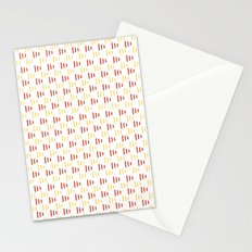 Summer flags Stationery Cards