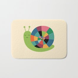 Snail Time Bath Mat