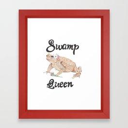 Swamp Queen Framed Art Print