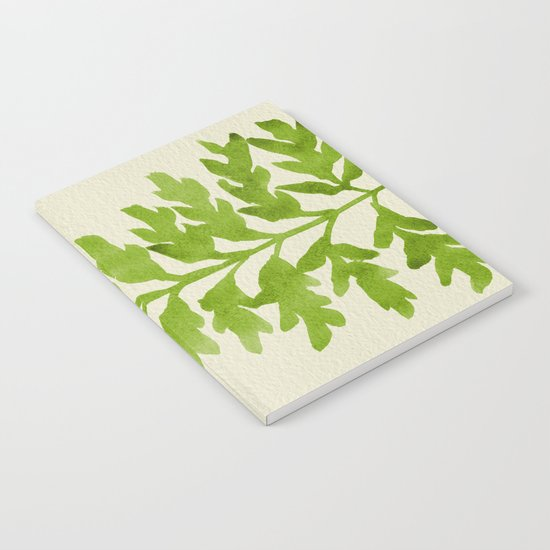Lime Fern Notebook