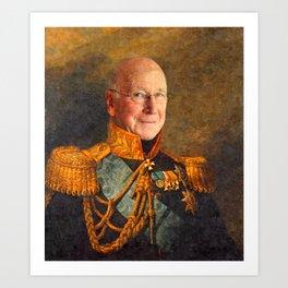 Sir Bobby Charlton Art Print