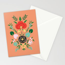 Mexico Flowers Stationery Cards