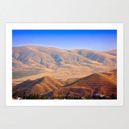 Mountains in Crimea Art Print