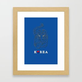 World Cup: Korea Framed Art Print