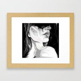 Like Drugs But Less Available Framed Art Print