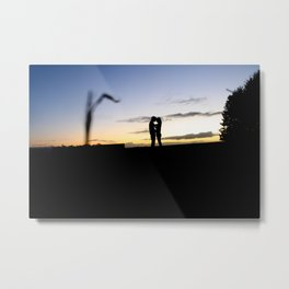 Love at the field. Metal Print