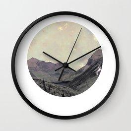 Alps Wanderer Wall Clock