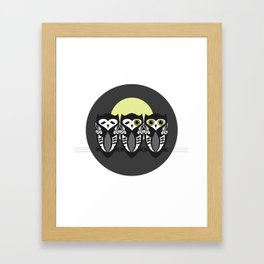Three Little Owls Framed Art Print