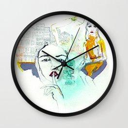 Rayuela Wall Clock