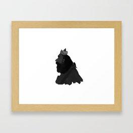 Wall painter Framed Art Print