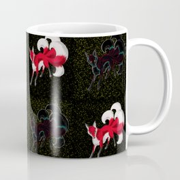 Kitsune Pattern Coffee Mug