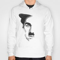 charlie chaplin Hoodies featuring Chaplin by josie leigh