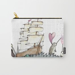 Accordion Sea Carry-All Pouch