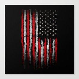 American grunge Canvas Print
