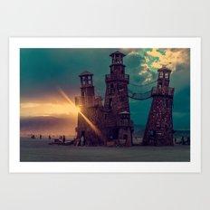 The Lighthouse Too Art Print