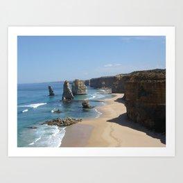 Shipwreck Coast Art Print