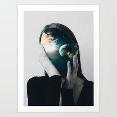 Inner Universe Art Print
