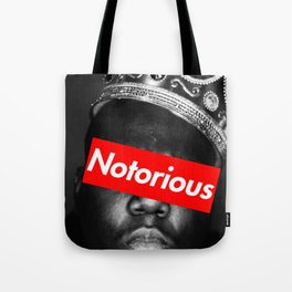 notorious big rap rapper design Tote Bag