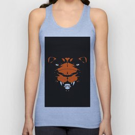 art tiger Unisex Tank Top