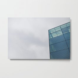 Sky Interrupted Metal Print