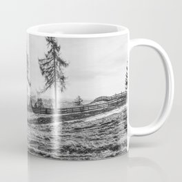 Dolomites in the background Coffee Mug