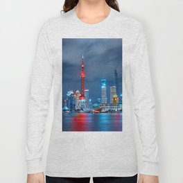 Shangai, China Long Sleeve T-shirt