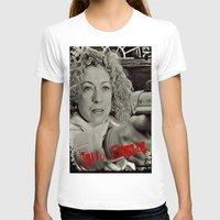 river song T-shirts featuring River Song; Hello Sweetie. by Art Corner