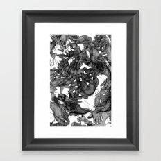 Handsy Framed Art Print