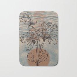 Magnolia Line Design Bath Mat