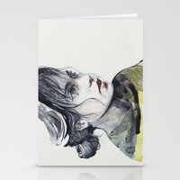 dragonfly Stationery Cards featuring Dragonfly by agnes-cecile