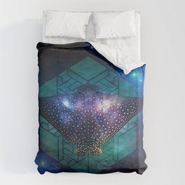 Eagle Ray Duvet Cover