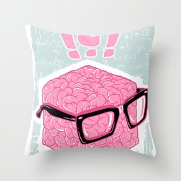 Brainbox Throw Pillow