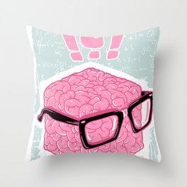 Brainbox Throw Pillow
