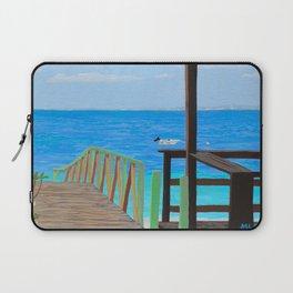Lookout along Grand Case Beach Laptop Sleeve