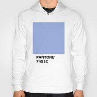 pantone Hoodies featuring PANTONE 7451C by cvrcak
