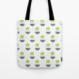 Potted Kalanchoe Plant Mom Pattern Tote Bag